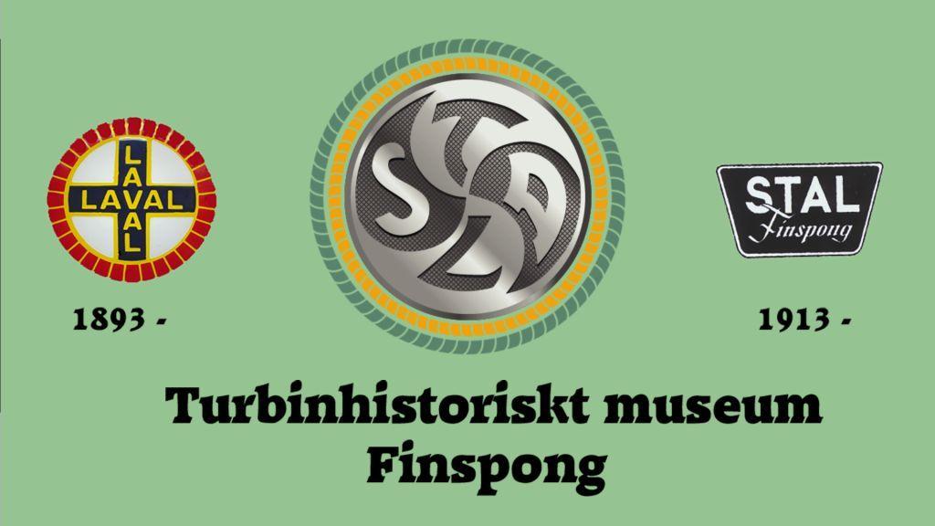 Logotyp för Turbinhistoriskt museum Finspång.